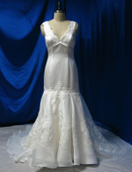 Mermaid Style Vintage Inspired Wedding Dress - Available in Every Color 3