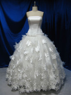 Vintage Inspired Wedding Dress - Available in Every Color 9