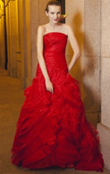 Red Wedding Dress - Available in Every Color 1