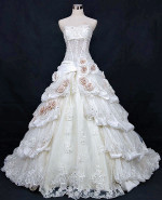 Vintage Inspired Wedding Dress - Available in Every Color 21