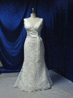 Trumpet Style Vintage Inspired Wedding Dress - Available in Every Color 3