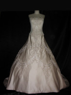 Vintage Inspired Wedding Dress - Available in Every Color 37