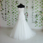 Trumpet Style Vintage Inspired Wedding Dress- Available in Every Color 2