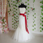 Mermaid Style Vintage Inspired Wedding Dress- Available in Every Color 1