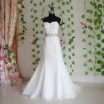 Trumpet Style Vintage Inspired Wedding Dress- Available in Every Color 6