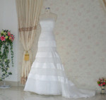 Trumpet Style Vintage Inspired Wedding Dress- Available in Every Color 9