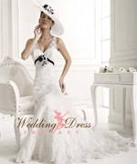 Vintage Inspired Wedding Dress- Available in Every Color 30