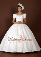 Audrey Hepburn Inspired Wedding Dress- Available in Every Color