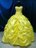 Yellow Wedding Dress- Available in Every Color 5