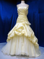 Yellow Wedding Dress- Available in Every Color 8