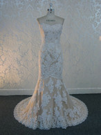 Lace Wedding Dress with French Lace