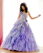 Purple Wedding Dress available in every color CP204