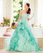 Aqua Wedding Dress CP210