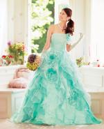 Aqua Wedding Dress CP210