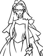 Custom Bridal Gown for Geri P