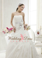 Organza Wave Wedding Dress