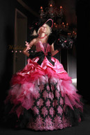 Pink and Black Bridal Gown  - Available in Every Color 66