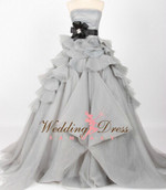 Gray Wedding Dress  - Available in Every Color