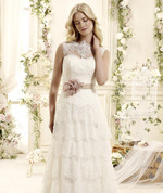 Sierra Vintage Inspired Couture Wedding Dress