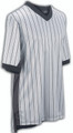 ELITE Performance Grey Side Panel Pinstripe V-Neck Basketball Referee Shirt
