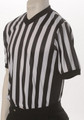 ELITE Side Panel Black and White Striped V-Neck Shirt
