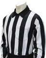 "2"" Stripes Smitty Elite Long Sleeved Football Referee Shirt"