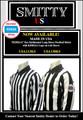 "2 1/4"" KSHSAA (Kansas) Stripes Smitty Made in USA Mens Football Referee Shirt-Long Sleeve"