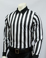 "1"" Stripes Smitty Elite Long Sleeved Football Referee Shirt"