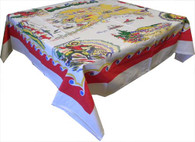 Moda Alaska State Cotton Tablecloth