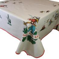 """52x65"""" Rectangular tablecloth"""