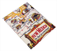 RWK New Mexico State Flour Sack Cotton Dish Towel