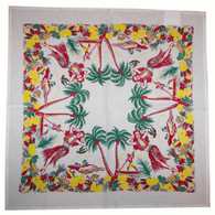 RWK Lovely Oahu Hawaiian Cotton Tablecloth