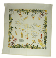 RWK Hawaiian Islands State Cotton Tablecloth