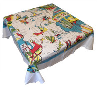 RWK Minnesota State Cotton Tablecloth