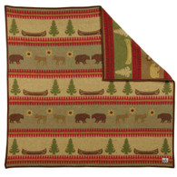 Old Hickory Wool Throw Blanket by Pendleton Blanket