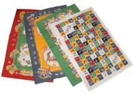 Moda Texas Western Theme Cotton Kitchen Towels, Set of 4