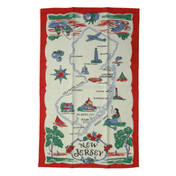 Moda New Jersey State Cotton Dish Towel