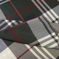 Sebastien & Groome English Plaid Tablecloth, Tan or Grey