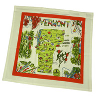 RWK Vermont State Cotton Dish Towel