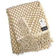 WoolMe Egidio Carmel Alpaca Wool Throw