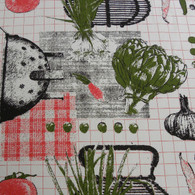 Sebastien & Groome French Kitchen Tablecloth, Round/Rectangle