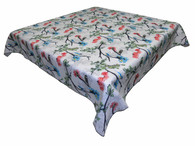 Sebastien & Groome Birds Gathering Cotton Tablecloth