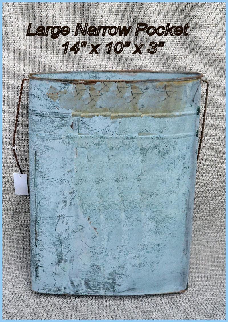 Metal Wall Pocket metal - large narrow metal wall pocket pocket ( 7382099923