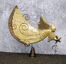 Angel with Spiral Stand
