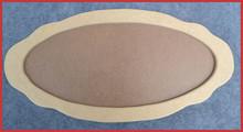 Wood - Fancy Oval Tray (19231814)