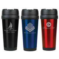 16 oz. Personalized Travel Mug - Free Engraving