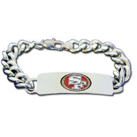 Personalized San Francisco 49ers Fan Favorite Bracelet