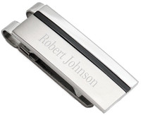 High Quality Stainless Steel Dual Tone  Money Clip