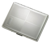Personalized Double Sided King and 100s Cigarette Case