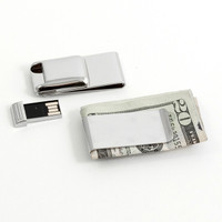 Personalized Money Clip with 2GB Flash Drive